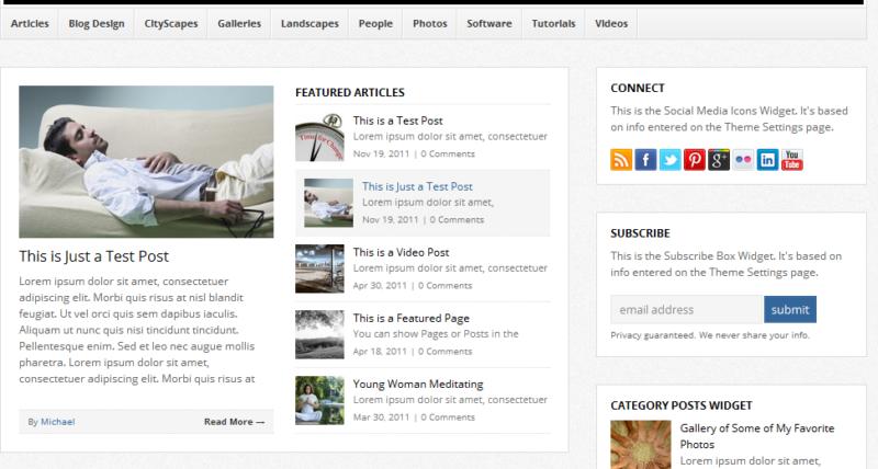 WP-Bold WordPress Theme: Beautiful Magazine Design Theme