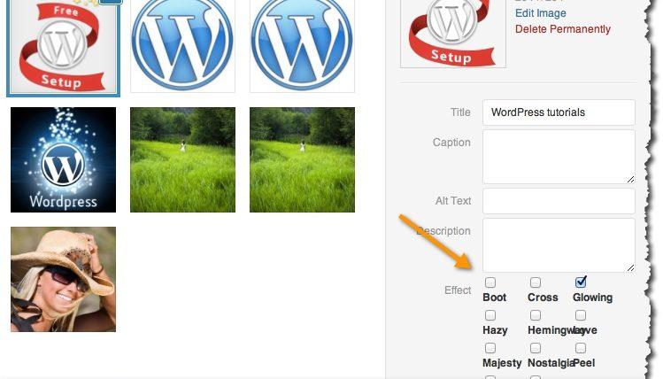 InstaFx Plugin: Add Instagram like Effects to WordPress Images