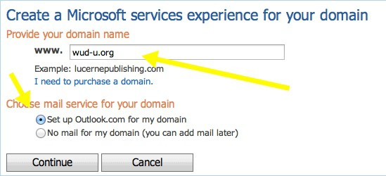 How To Set Up A Professional Domain Email Address Via Outlook