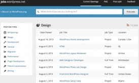 Jobs.WordPress : Official WordPress Jobs Portal Launched