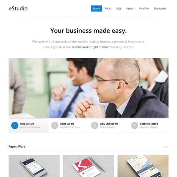 estudio business theme wordpress