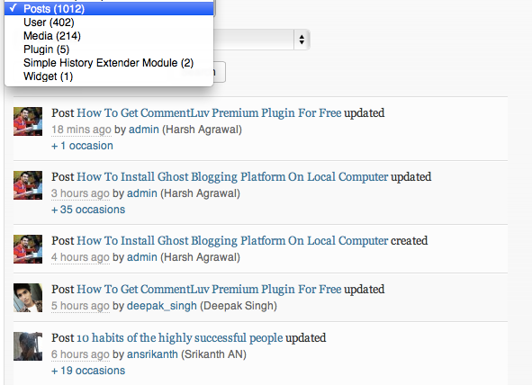 Best WordPress Plugin To Monitor User Activities Inside Dashboard