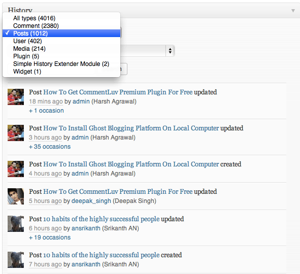 Best WordPress Plugin To Monitor User Activities Inside Dashboard