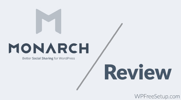 Monarch Review: Best Paid Social Sharing WordPress Plugin