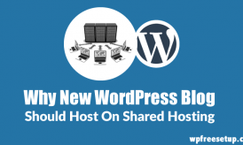 Reasons Why You Should Host A New WordPress Blog On Shared Hosting