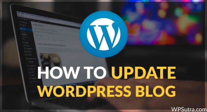 How to Update WordPress Blog without Breaking a Bone