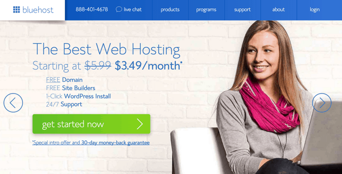 Bluehost Hosting Discount code