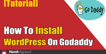 How to Install WordPress Blog on Godaddy Managed Hosting