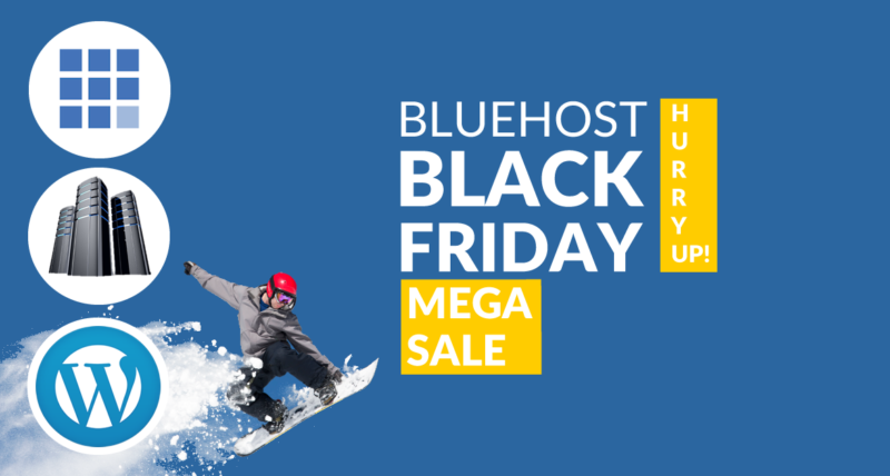 Bluehost Black Friday & Cyber Monday Discount 2018 (LIVE*)
