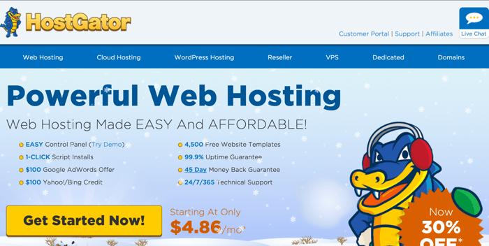 Budget WordPress hosting