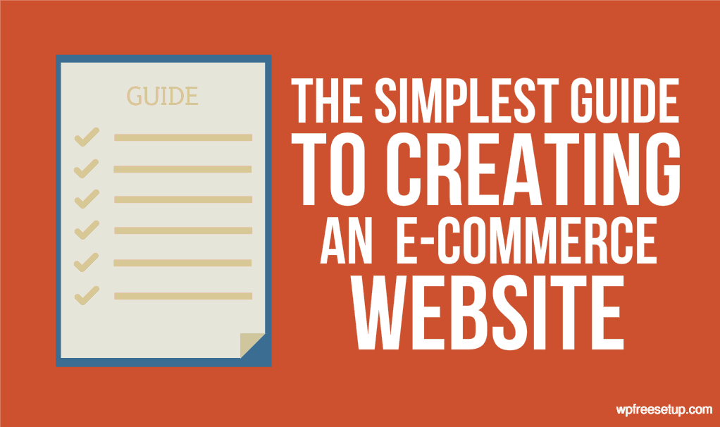 Easily create an eCommerce website with WordPress