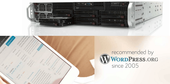Recommended WordPress hosting company