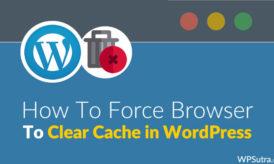 How To Force Browser to Clear Cache in WordPress