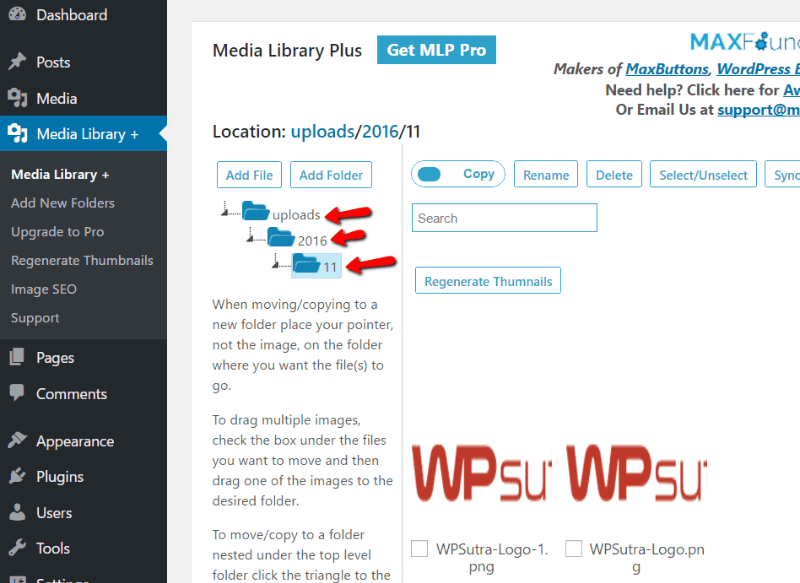 Media Library Plus