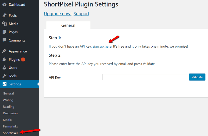ShortPixel-plugin-settings