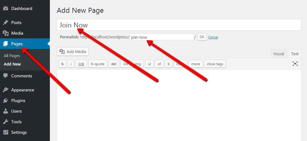 Login Page Name