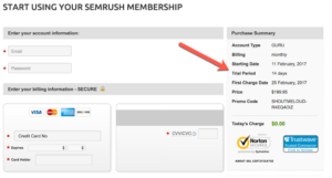 SEMrush Free Trial Offer: 2 Weeks Unlimited Access [Guru Account]