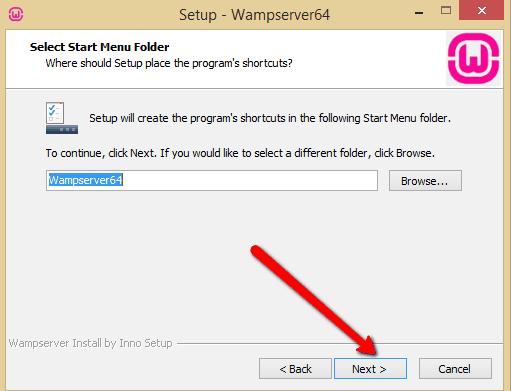 WAMP Shortcut