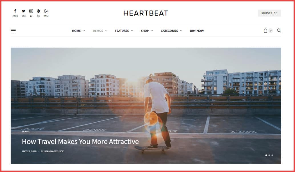 Lifestyle-blog-wordpress-theme