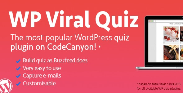 WP Viral Quiz Plugin For WordPress
